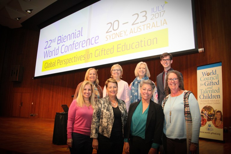World Council for Gifted and Talented Children Executive Committee 2017 - 2019
