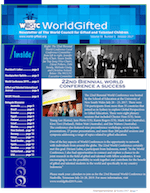 World Gifted Newsletter Volume 36, Issue 1 Cover