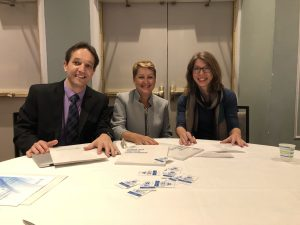GTI Editors at 2018 AERA Conference in New York