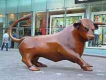 Bullring Bull says mooo!