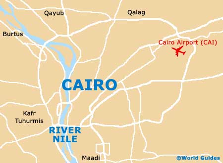Image result for map of cairo