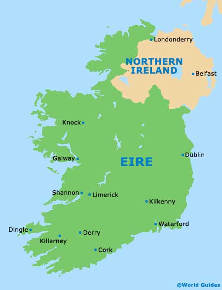 Image result for derry northern ireland map