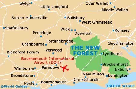 Image result for lyndhurst hampshire map