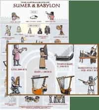 Instruments from Mesopotamia: Sumer, Babylon