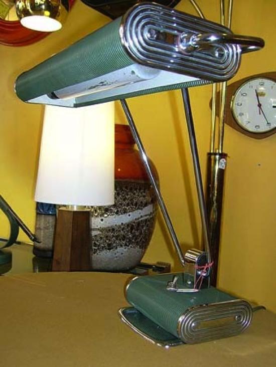 lampe de bureau annees 50