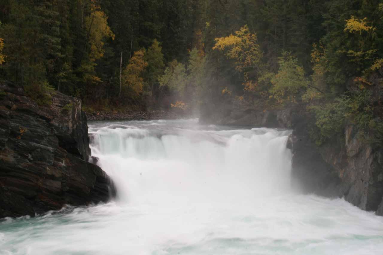 Overlander Falls Mount Robson Provincial Park British
