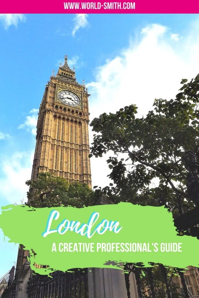 Guide for Creative Professionals in London