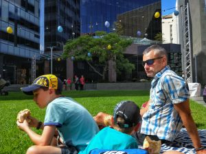 Easter at cathedral square