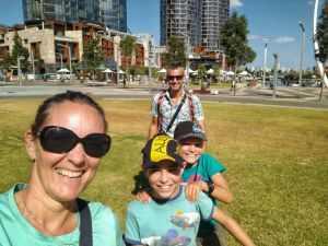 Family time in Perth