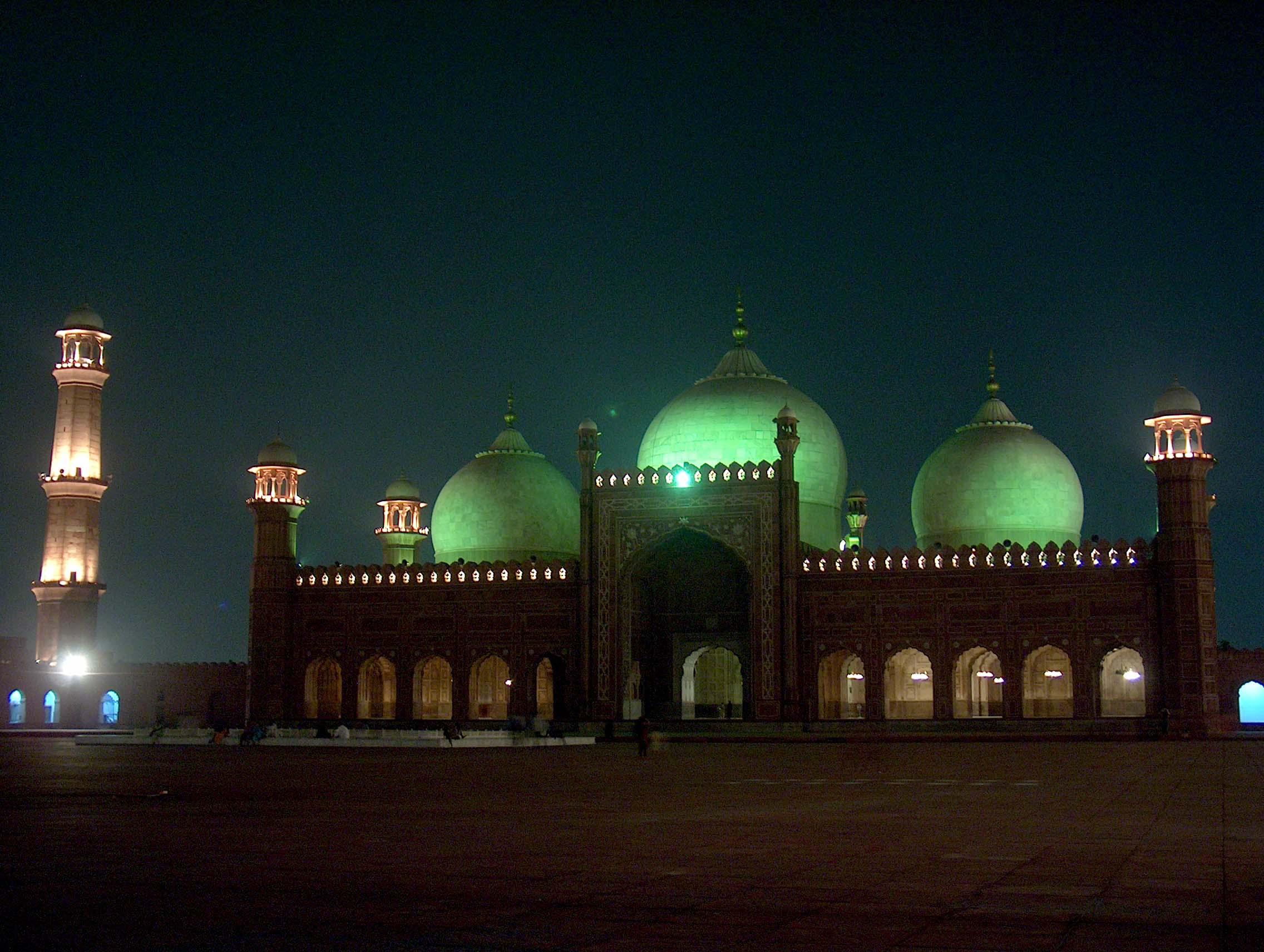 India, Asia, Taj Mahal at night