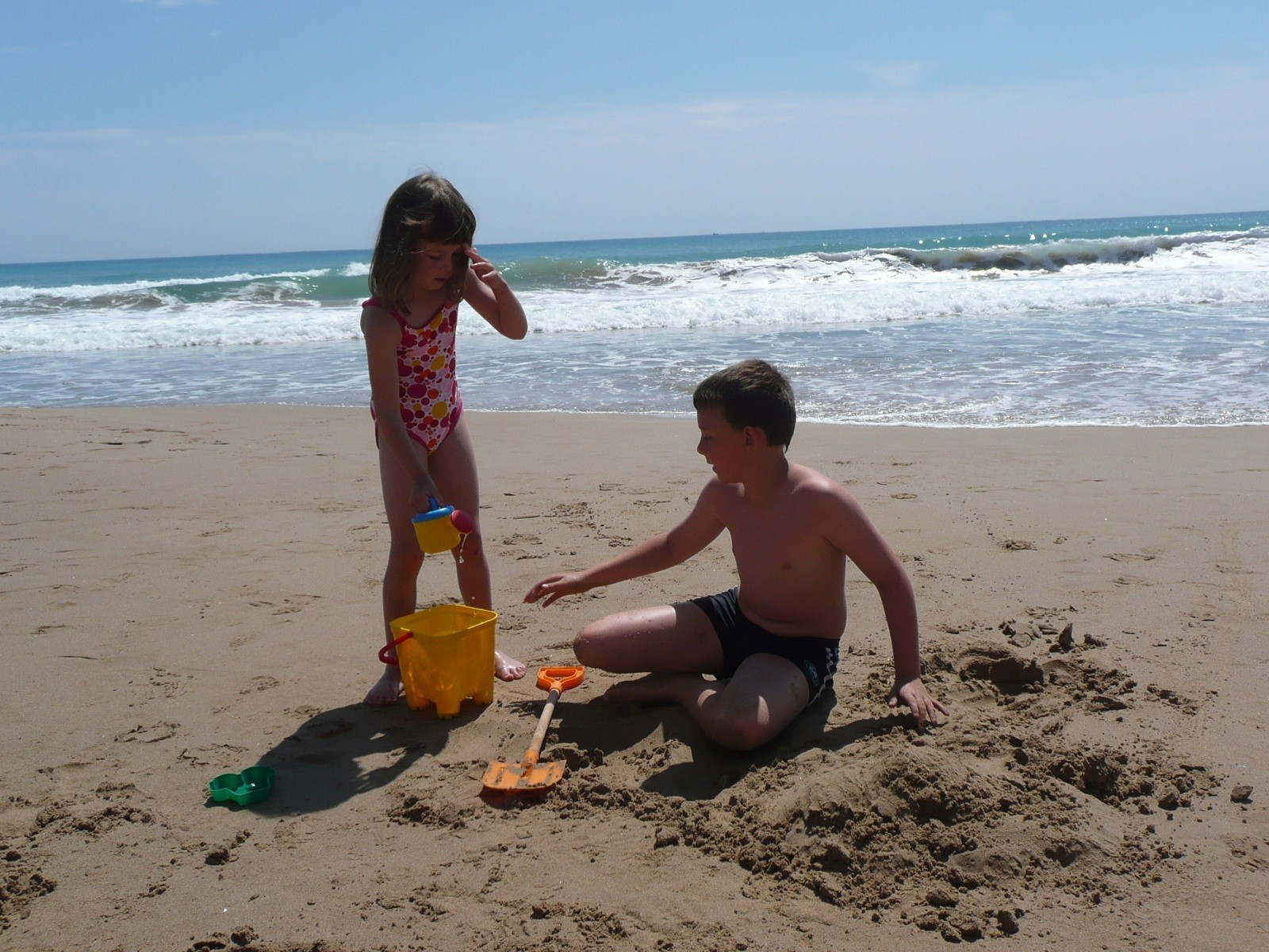 Image result for children playing on beach