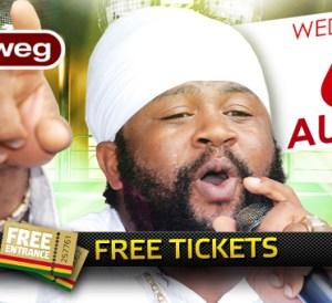 free tickets fantan mojah