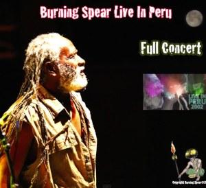 Burning Spear Live in Peru