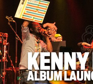 kenny b album launch
