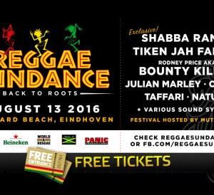 Reggae Sundance free tickets