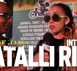Interview With Natalli Rize at Reggae Jam 2016