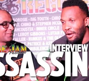 Interview with Assassin aka Agent Sasco at Reggae Jam 2016