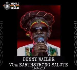 Bunny Wailer Earthstrong