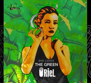 Oriel She love the green
