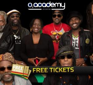 Wailers Live free tickets