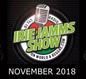 Iriei Jamm Show Nov 2018