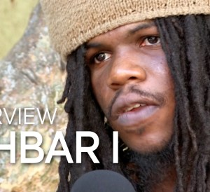 "DJ 745 speaks with Jahbar I Miller about his musical roots and album ""Jahbar I Dehya"" at Anchor Studios, Kingston Jamaica. February 2019"