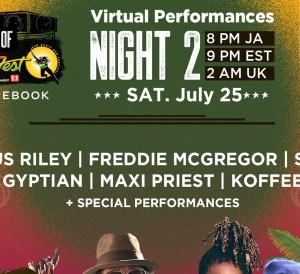 A Taste of Reggae Sumfest - Night 2
