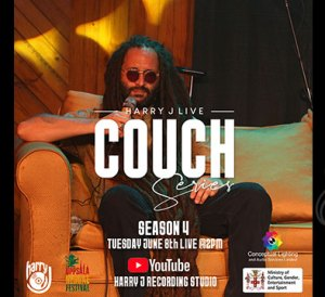 Alborosie - Harry J Studio Live Couch Series
