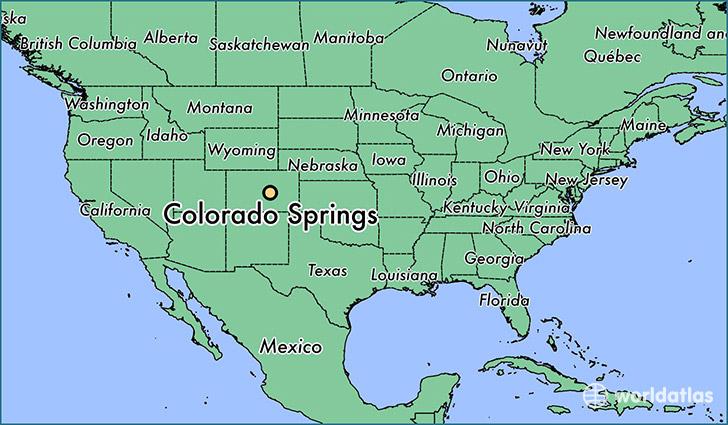Elevation Map Denver Co