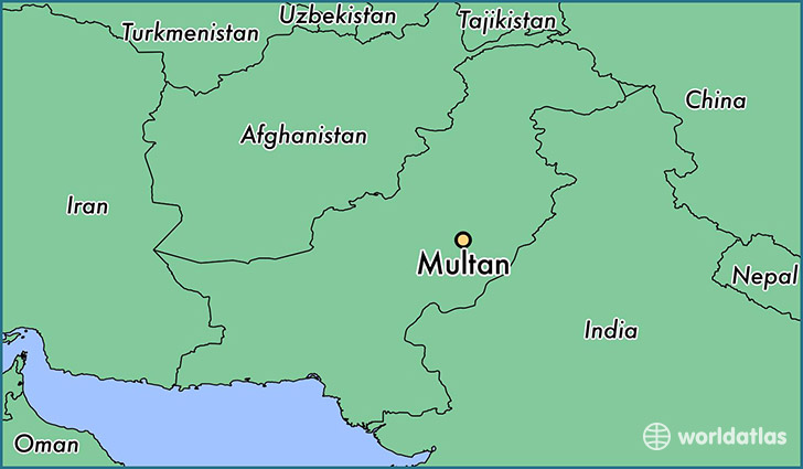 Image result for multan pakistan map