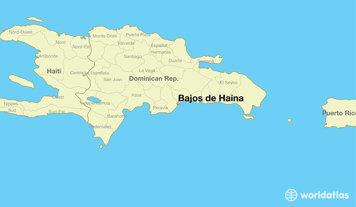 Where Is Bajos De Haina The Dominican Republic Bajos