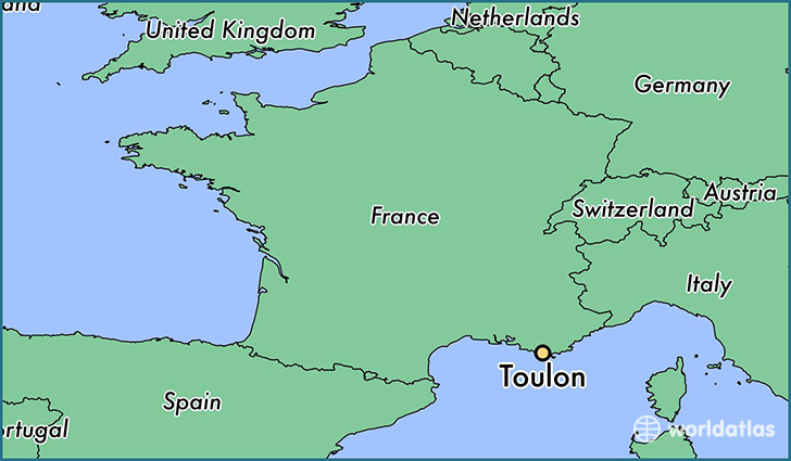 Image result for toulon map