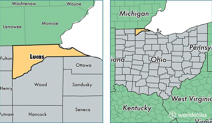 Sylvania Toledo Map Ohio And