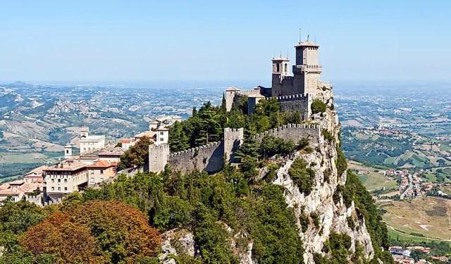 #3 San Marino - 61 sq km