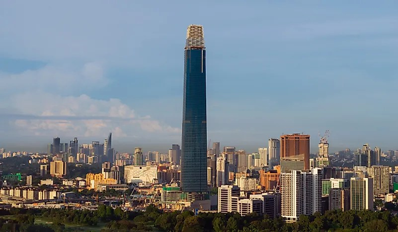 Tallest Buildings In Malaysia
