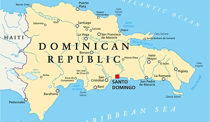 United Nations Dominican Republic Map