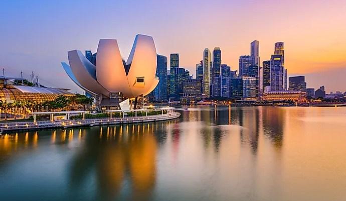 os países mais ricos do mundo - cingapura