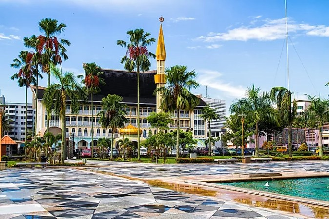 The Richest Countries in Asia   WorldAtlas com Bandar Seri Begawan  Brunei
