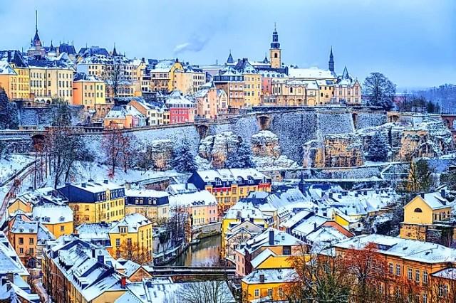 #8 Luxembourg - 2,586 sq km