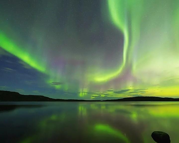 Islândia aurora boreal
