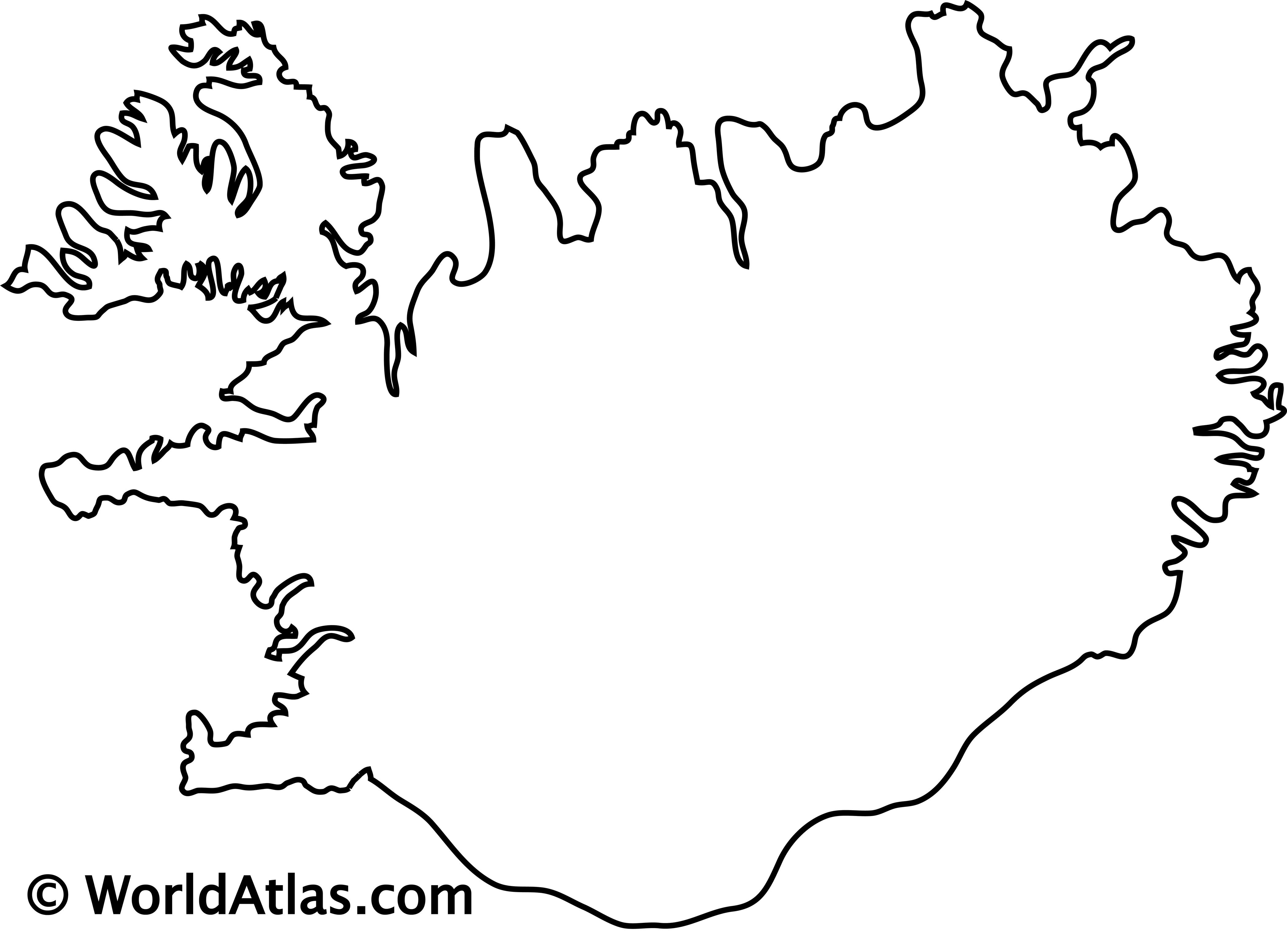 Iceland Maps Amp Facts