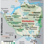 Zimbabwe Maps Facts World Atlas