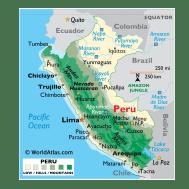 Peru Maps Facts World Atlas