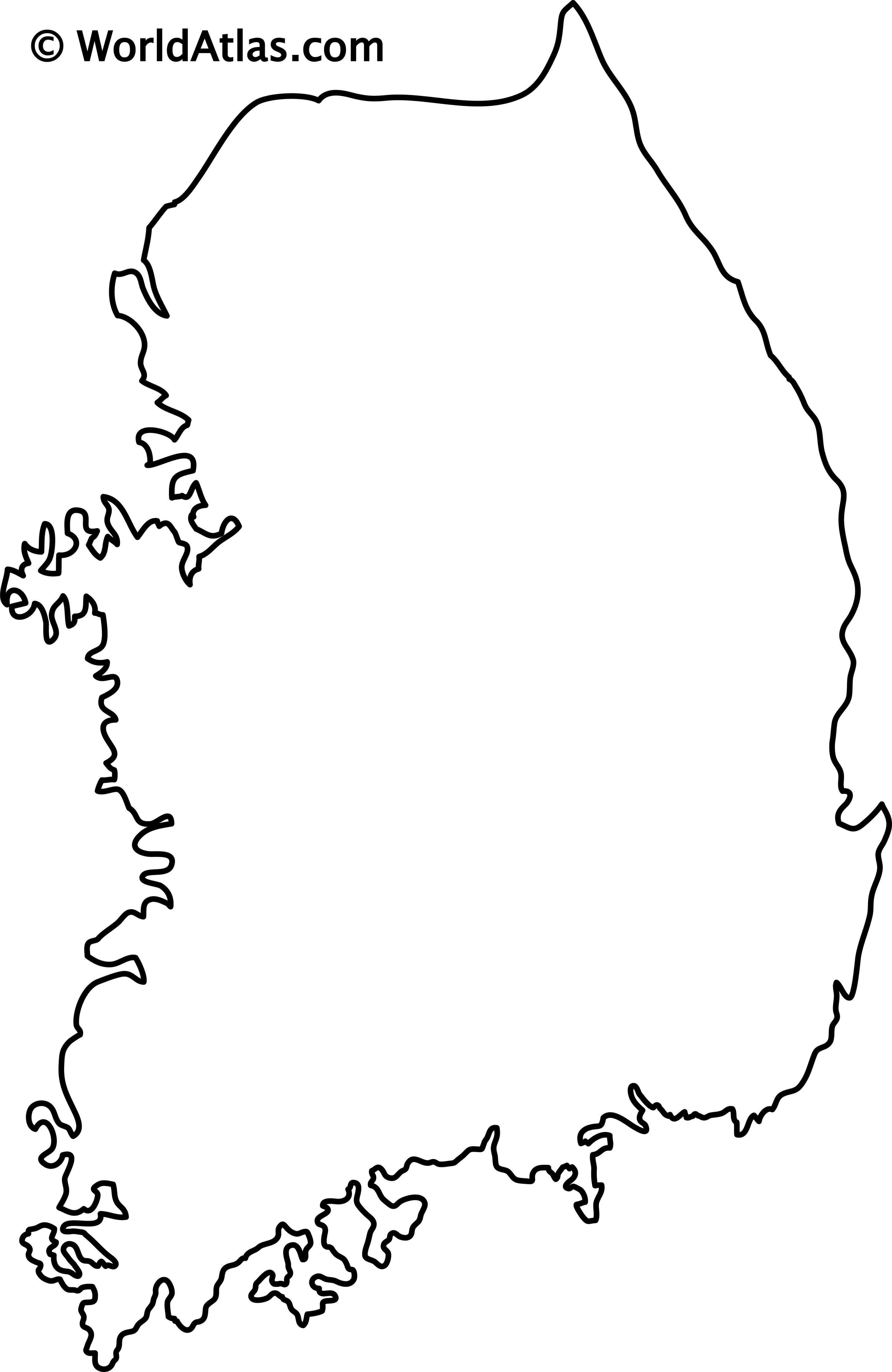 South Korea Maps Facts World Atlas