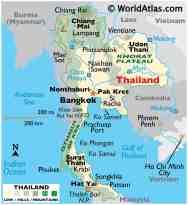 Thailand Maps Facts World Atlas