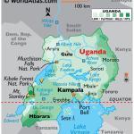 Uganda Maps Facts World Atlas