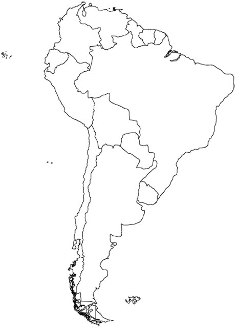 south america map map of south america maps and information about