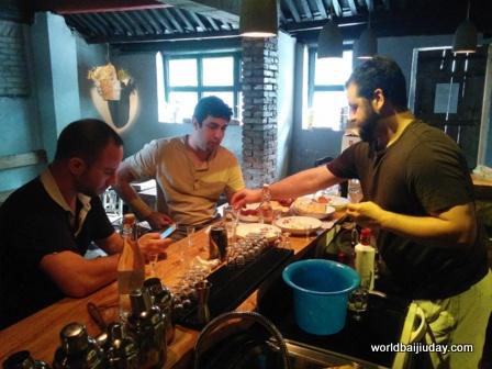 Bill Isler David Putney Jonathan Alpart baijiu meat cheese tasting at Capital Spirits Beijing China.jpg