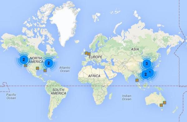 world baijiu day map july 10