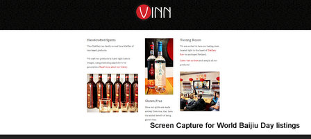 Baijiu Producer Listings Vinn Distillery United States
